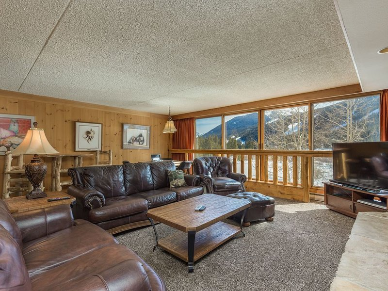 Spacious Condo, Granite Counters, King Bed, Mountain Views, Free WIFI, alquiler vacacional en Keystone