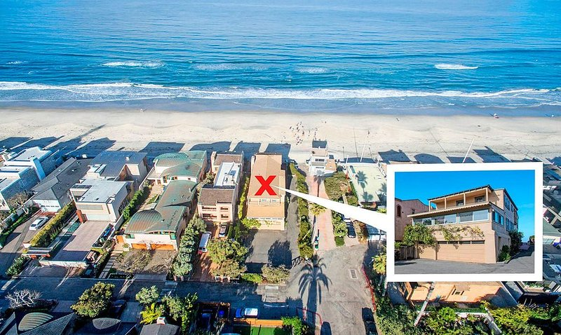 Oceanfront Historic Retreat - Professionally Cleaned According to CDC Cleaning G, alquiler vacacional en Del Mar