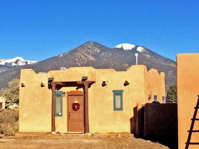 Can~Tina la Casita awaiting completion of new patio has extrordinary mountain views