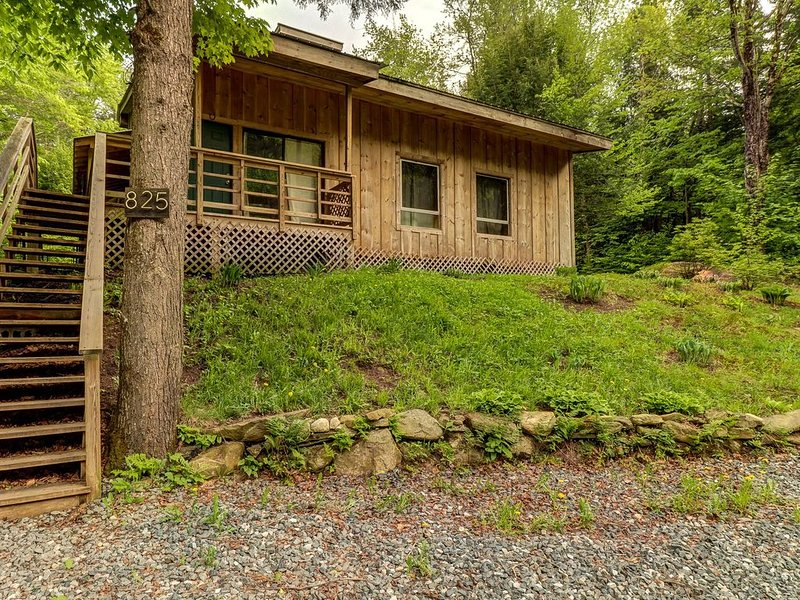 Dog-friendly cabin w/firepit - ski/golf at nearby mountains!, location de vacances à Wardsboro