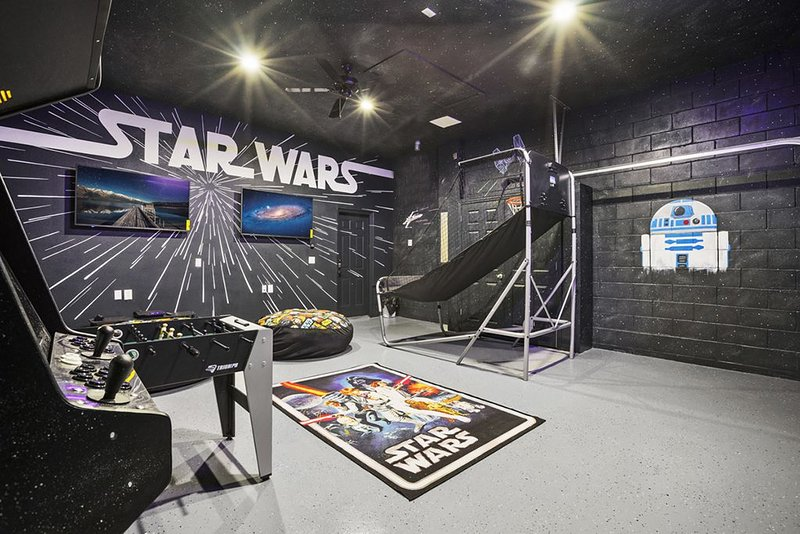 Themed Game Room