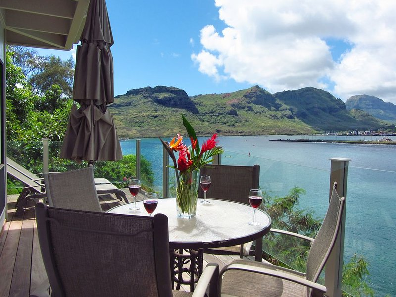 OCEANFRONT Cliffside of Kalapaki ** the Ohana Cliff House Flat W/ **AC**, location de vacances à Lihue