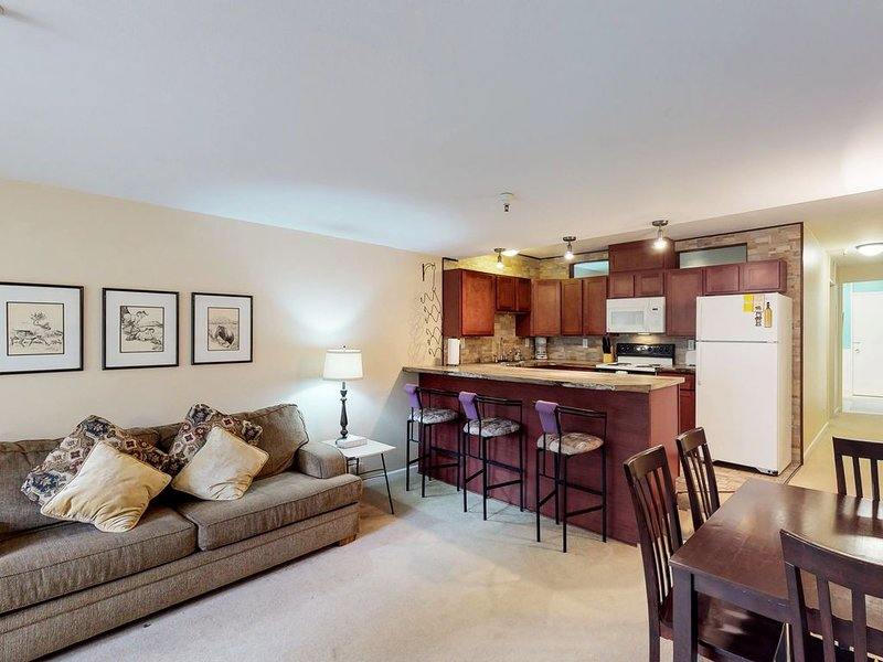 Condo features convenient location near skiing, hiking, biking, & natural beauty, holiday rental in Whittier