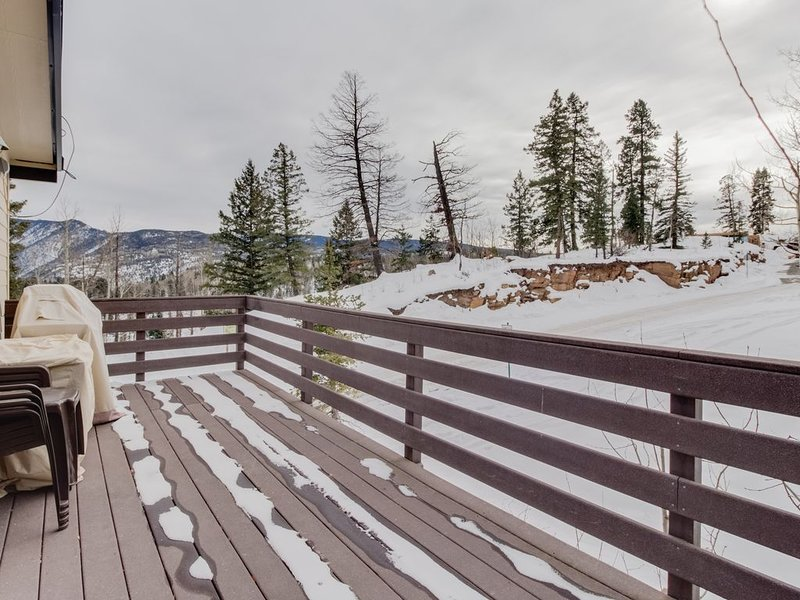 Ski-in/Ski-out alpine condo, with mountain views & prime location, holiday rental in Purgatory