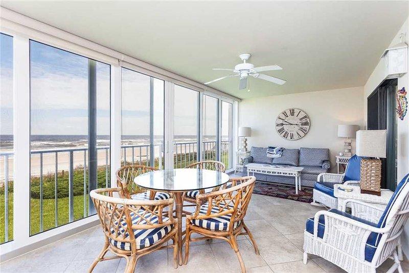 Ponte Vedra Ocean Manor 695C-104, Beachfront, 3 Bedrooms, Sleeps 6, holiday rental in Ponte Vedra Beach