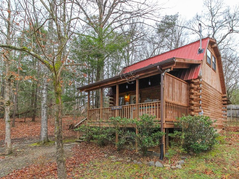 Cozy cabin with private hot tub perfect for getting away from it all!, vacation rental in Townsend
