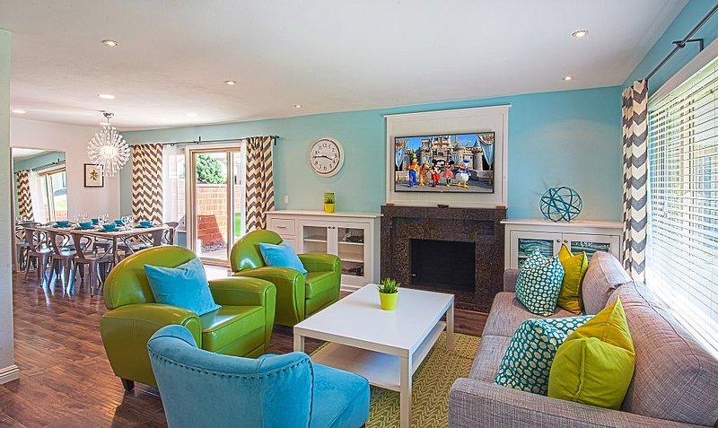 Funtierland + Suite Escapes 5 + Walk to Disney + Pool + Netflix, aluguéis de temporada em Anaheim