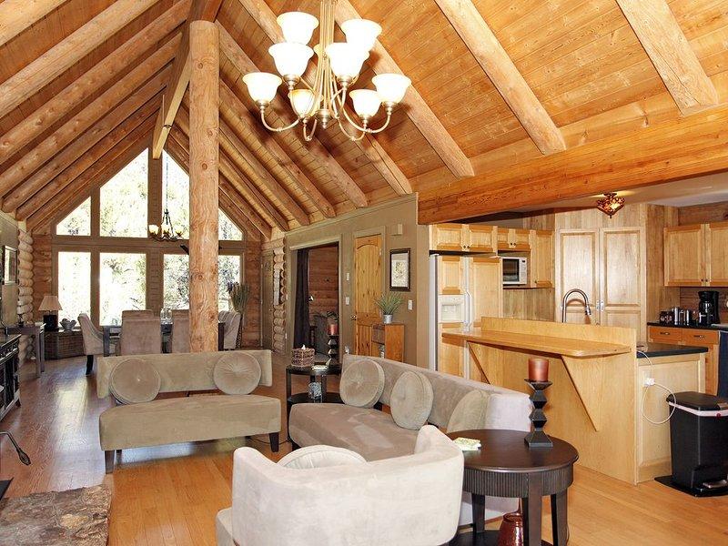 Colorado Log Home - Dramatic Mountain Views - Pet Friendly, holiday rental in Ridgway