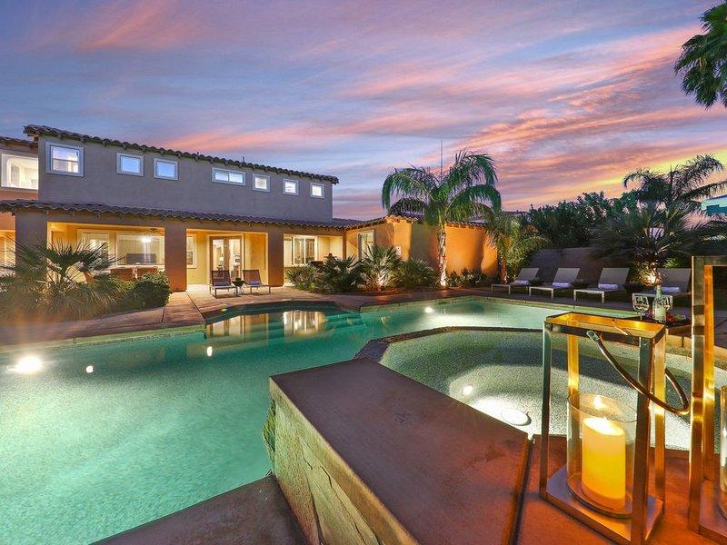 South Pear- An Impressive Desert Estate With Saltwater Pool, alquiler de vacaciones en Indio
