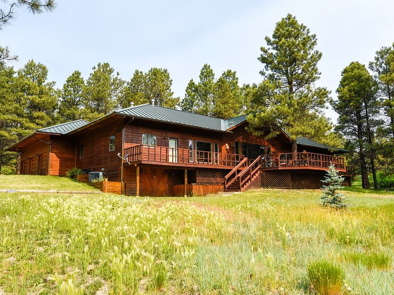 Spacious, high-end cabin with gourmet kitchen + wet bar,, holiday rental in Pagosa Springs