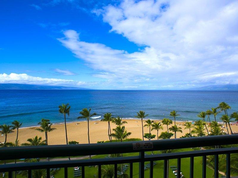 Maui Resort Rentals: Marriott's Maui Ocean Club Oceanfront Studio Villa, holiday rental in Lanai
