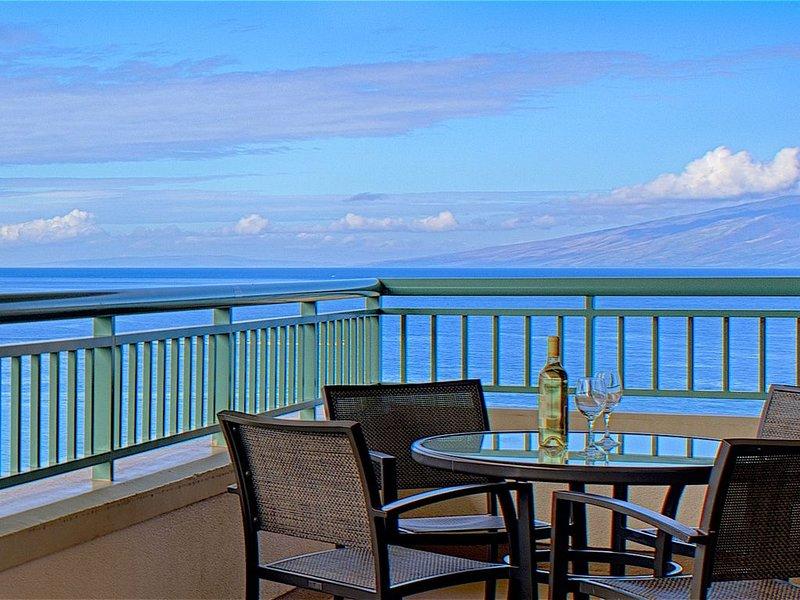 Maui Resort Rentals: Penthouse 3BR Oceanfront Villa * Marriott's Maui Ocean Club, holiday rental in Lanai