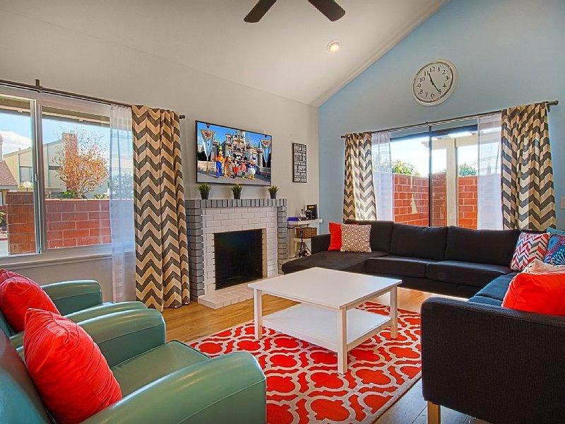 Funtierland + Suite Escapes 7 + Walk to Disney + Nursery + Pool + Netflix, aluguéis de temporada em Anaheim