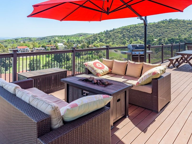 Highland Park Panorama--Your Window to the World of Paso Robles Wine Country, casa vacanza a Paso Robles