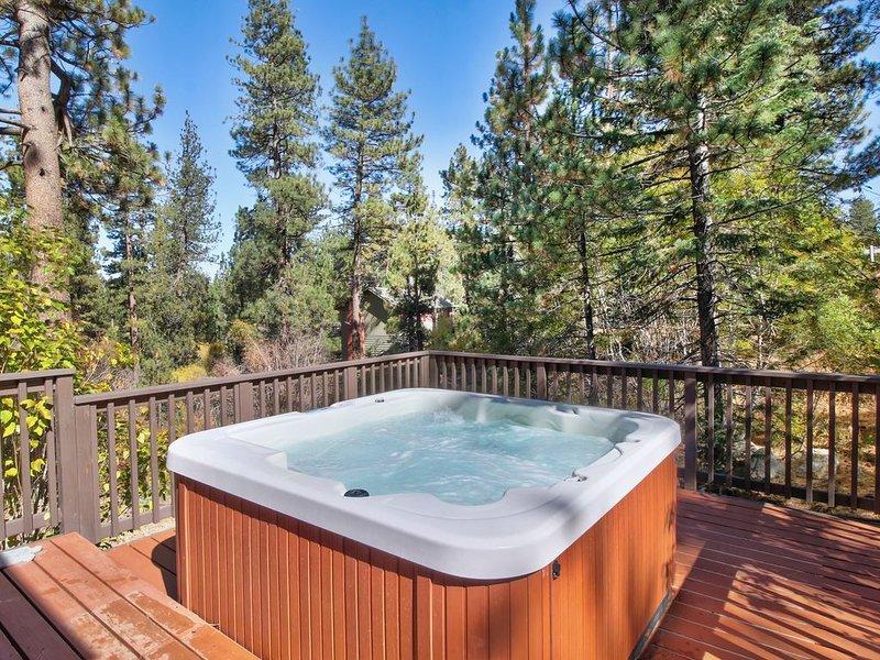 Dog-friendly cabin w/deck & hot tub - peaceful location near hiking, location de vacances à Cherry Valley