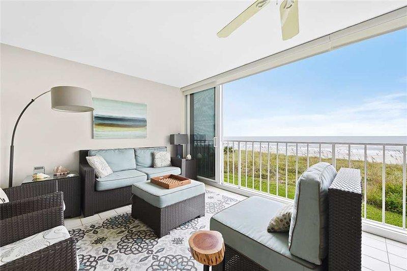Ponte Vedra Ocean Manor 693C-104, Beachfront Condo, 3 Bedrooms, Sleeps 6, alquiler vacacional en Ponte Vedra Beach