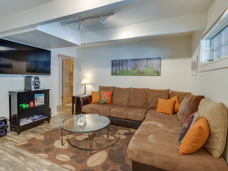 Cozy downtown condo - close to golf - walk to dining, shopping, & the slopes!, holiday rental in Aspen