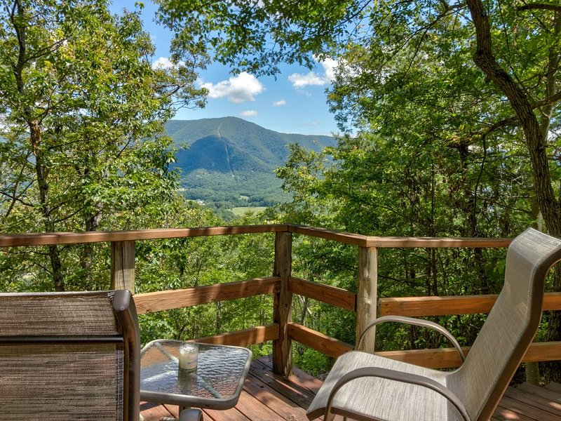 Intimate dog-friendly cabin w/ private hot tub. Close to Great Smoky Mtns!, holiday rental in Wears Valley