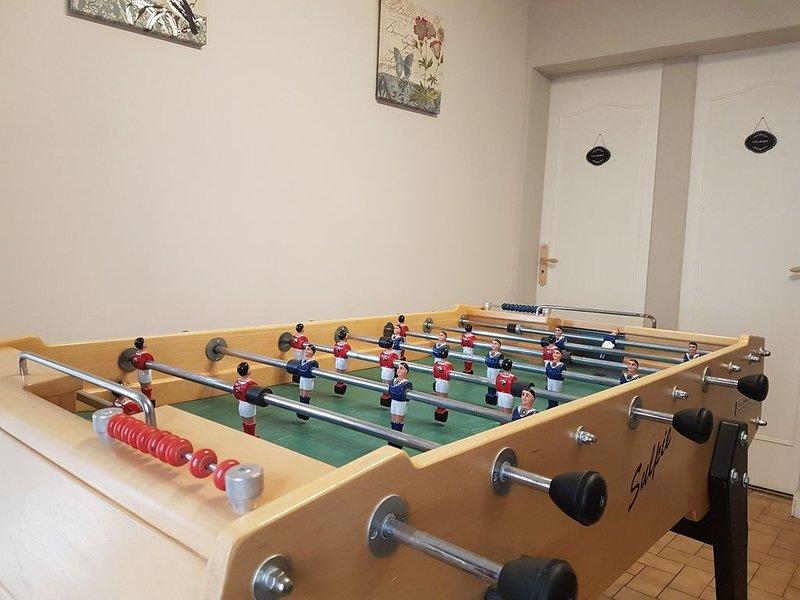 Sala giochi e BabyFoot