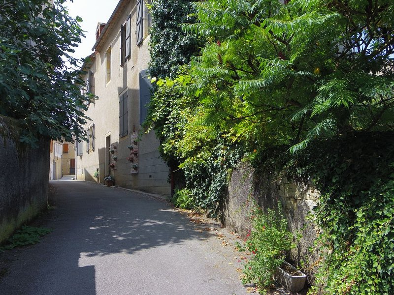 The small street