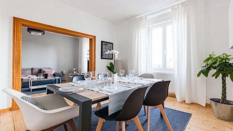 Appartement 7/8pers. Colmar centre ville avec parking, Ferienwohnung in Colmar