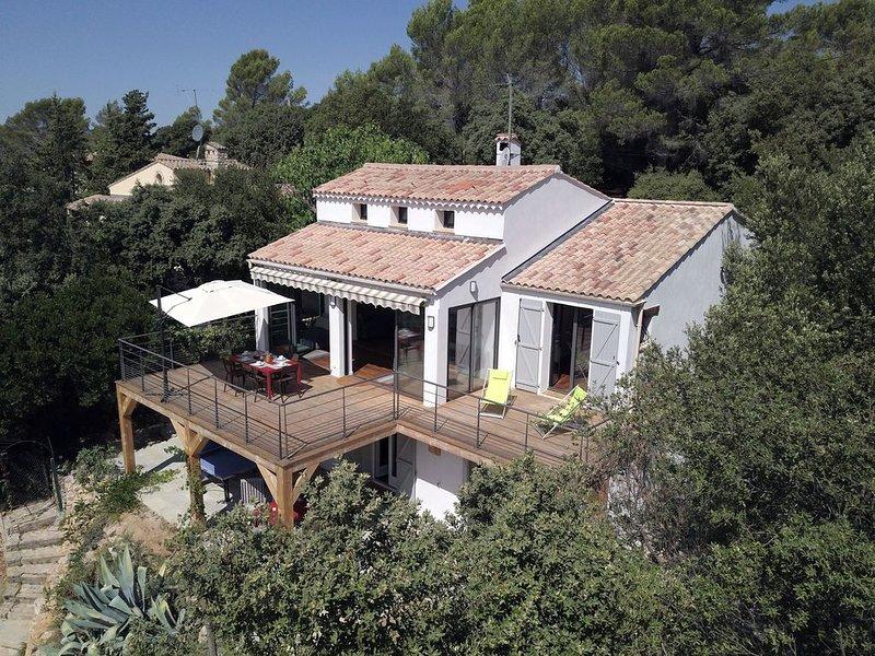 Villa au calme entre mer et montagne, holiday rental in Bagnols-en-Foret