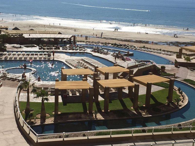 Amazing Ocean/Pool views, 3BD/3BA all en-suite,  Ph2 Cortez Bldg 3rd floor, vacation rental in Puerto Penasco