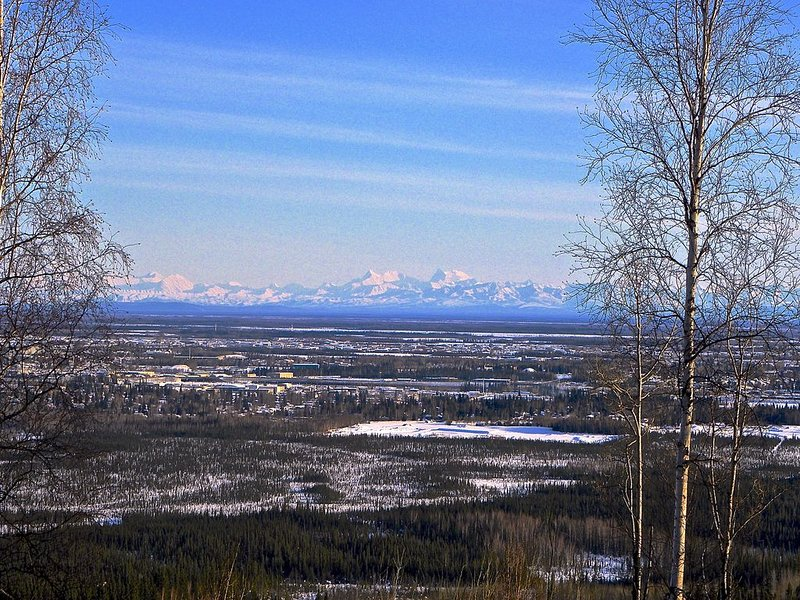 Arctic Dream - Spectacular view of the city and the aurora!, vacation rental in Fairbanks