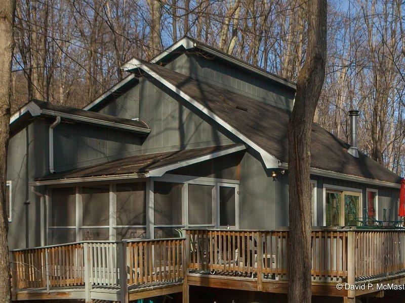 Treetop Cottage 4 br, 2 bath. Sleeps 10.Berkeley Springs.