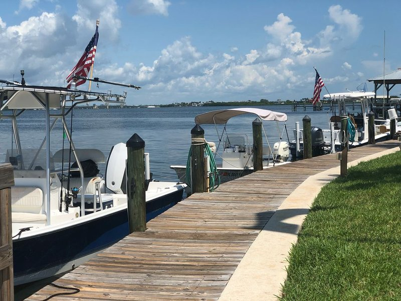 Boat docking! 4th July 2018