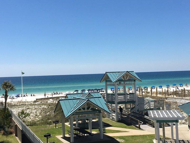 Island Princess #319-Faster, secure internet, gym, hot tub, pool, west gulf view, holiday rental in Fort Walton Beach