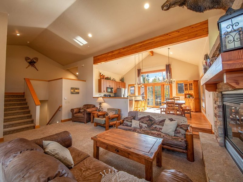 Spacious Great Room, great for large groups!