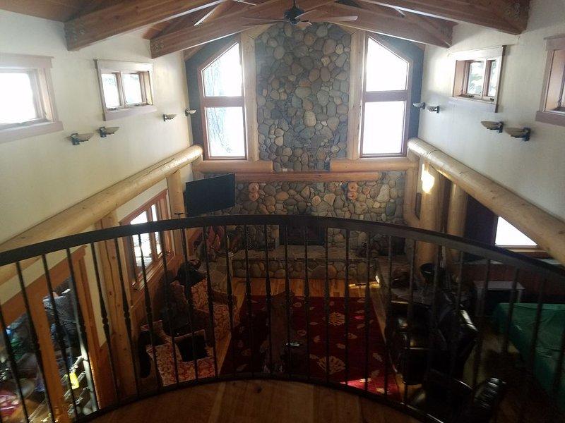 View From Balcony Bedroom - Overlooking the Great Room