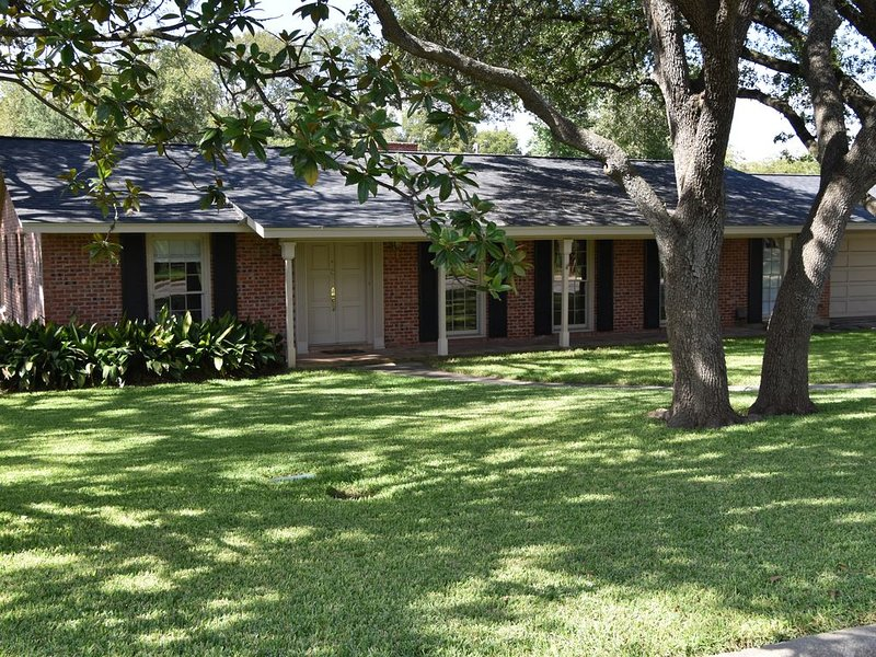 CENTRALLY LOCATED - Charming 4 BR, 3 bath, pool, 7-per Jacuzzi close to airport, holiday rental in Castle Hills