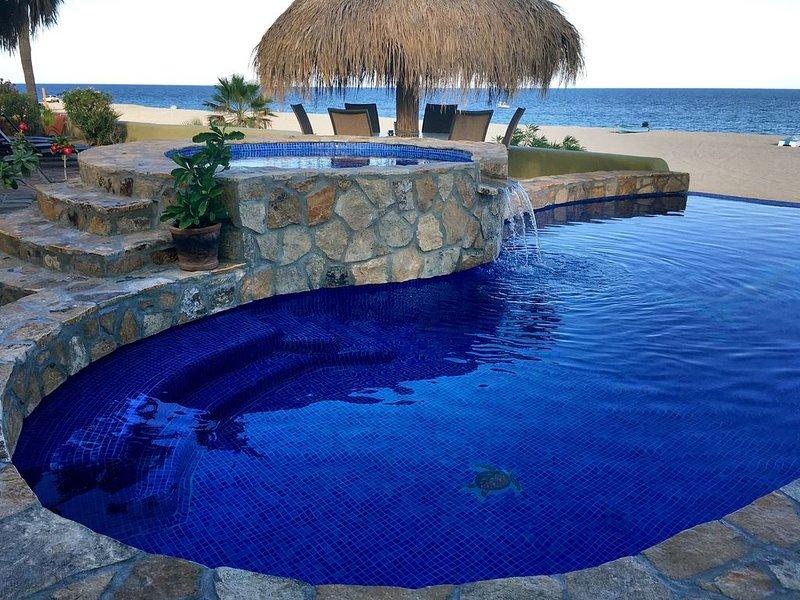 New Infinity pool ans spa overlooking the always amazing Sea of Cortez