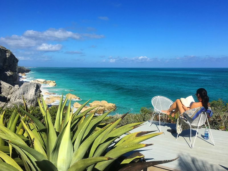 *****Spectacular Oceanfront Eco Cottage*****, location de vacances à Eleuthera