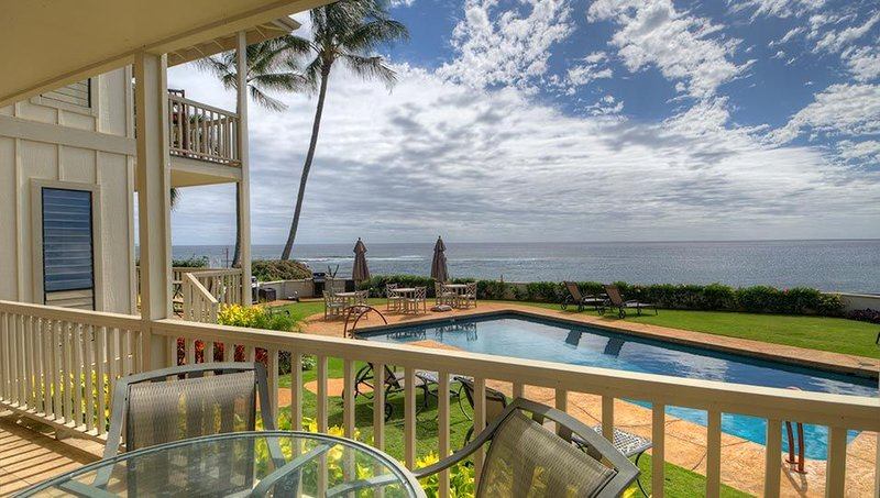Alihi Lani 2:  2 Bedroom, 2 Bath Oceanfront!! Vacation On Kauai!!, holiday rental in Poipu