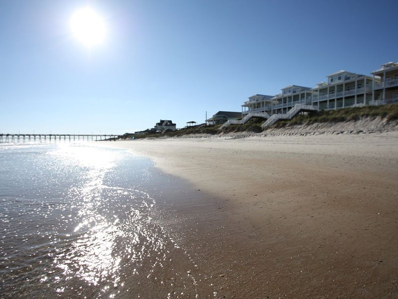 Oceanfront Home,Early Check-In, Pool, Elevator, 50 Steps to the Beach, holiday rental in Surf City