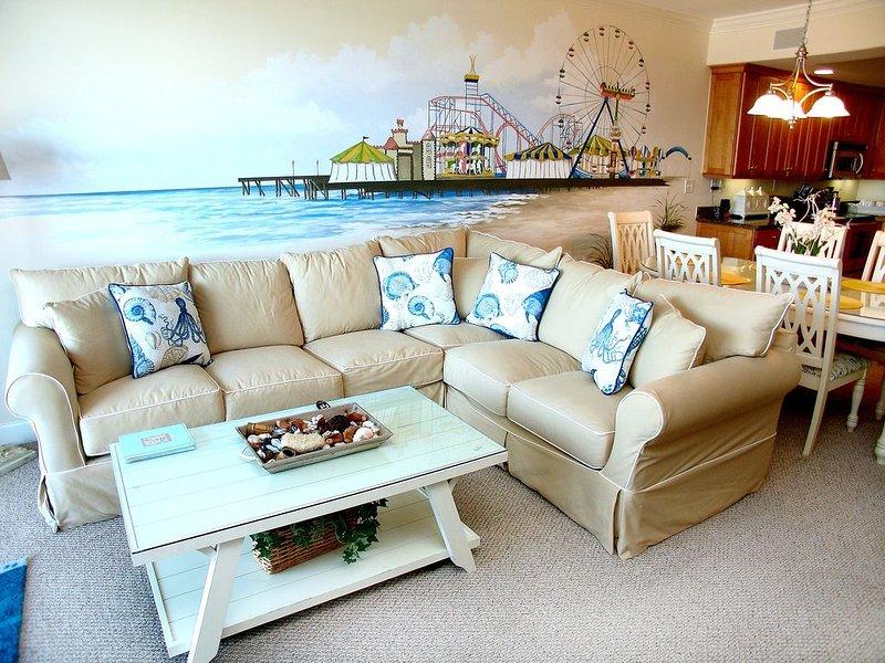 Oceanfront and Boardwalk Luxury Condominium, holiday rental in Ocean City