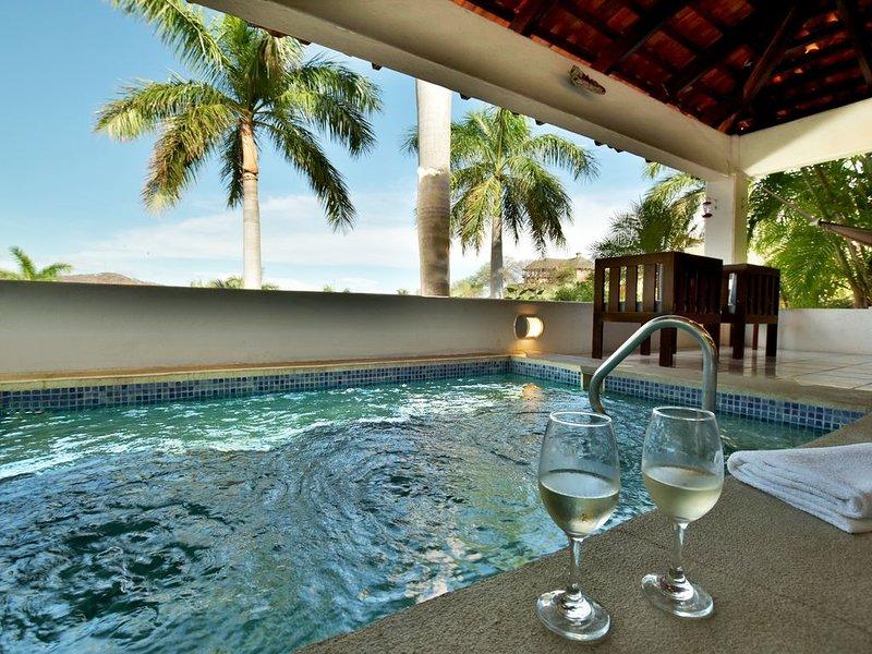 Disfruta de esta piscina privada, salpicaduras!