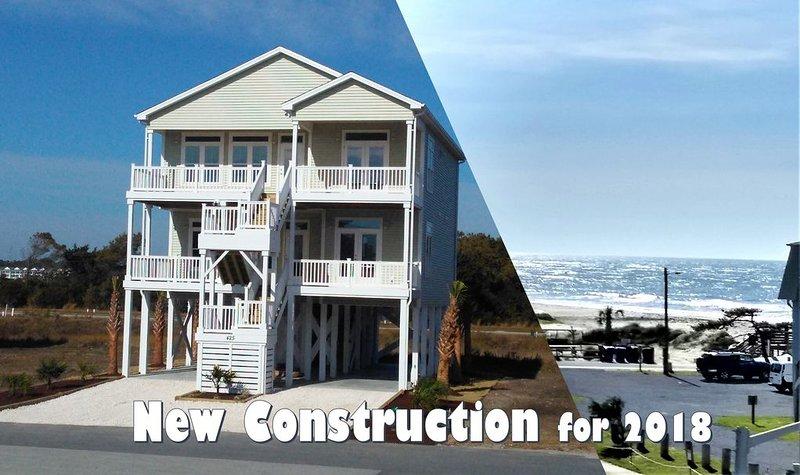 BUILT IN 2018 -- GREAT OCEAN VIEWS -- 5 Bedroom, 5.5 Bath, 2 Living Rooms, holiday rental in Ocean Isle Beach