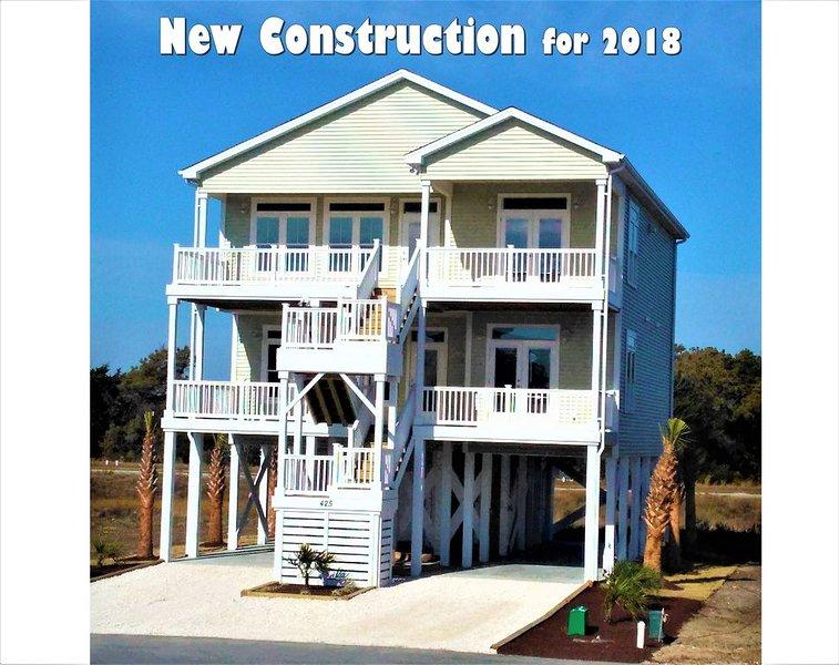 La construction de maisons a été achevée au début de 2018.
