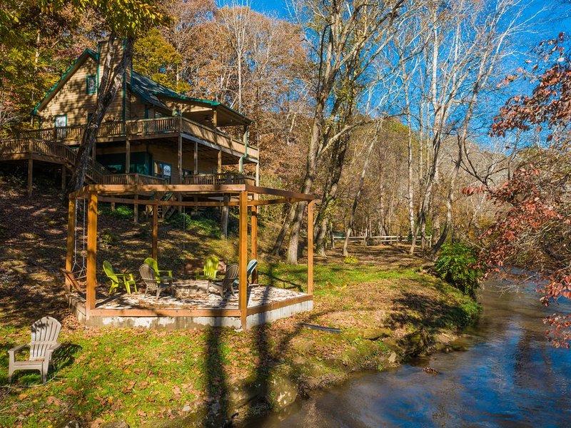 Arkaquah Creek Retreat!, holiday rental in Blairsville