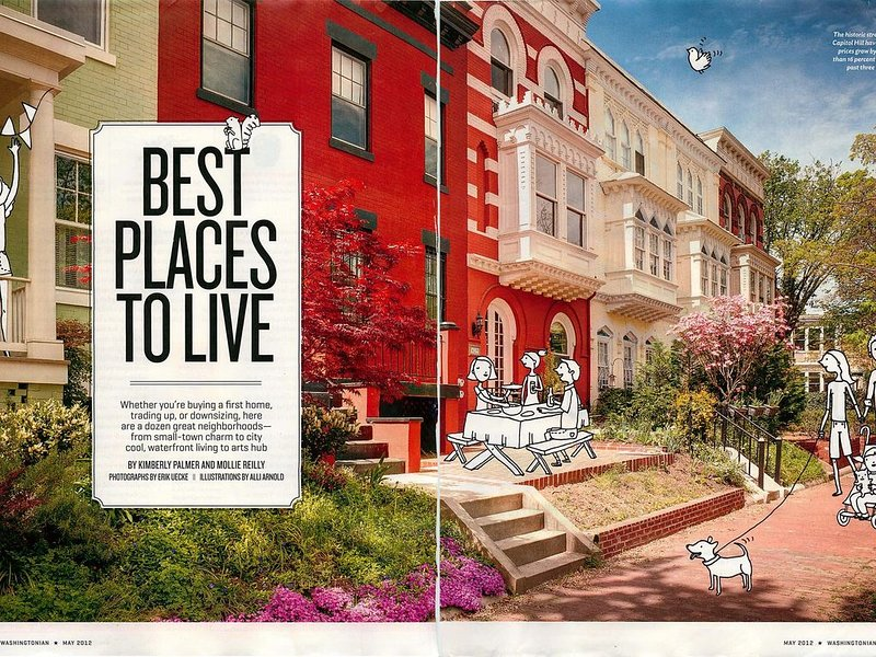 Washingtonian Magazine's Best Place to Live on Capitol Hill, vacation rental in Washington DC
