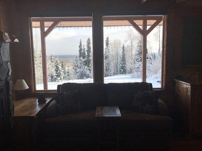 Beautiful Alaska cabin close to salmon fishing, hiking, and sight-seeing!, holiday rental in Soldotna
