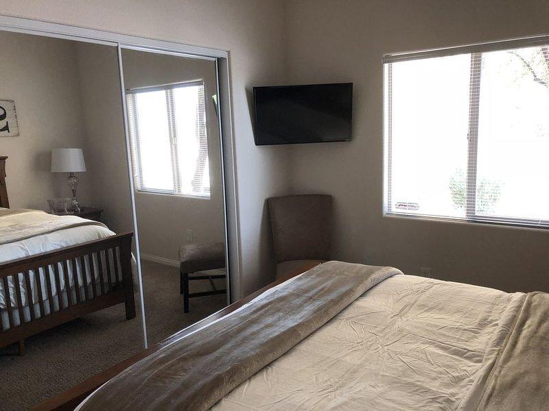 Second bedroom TV