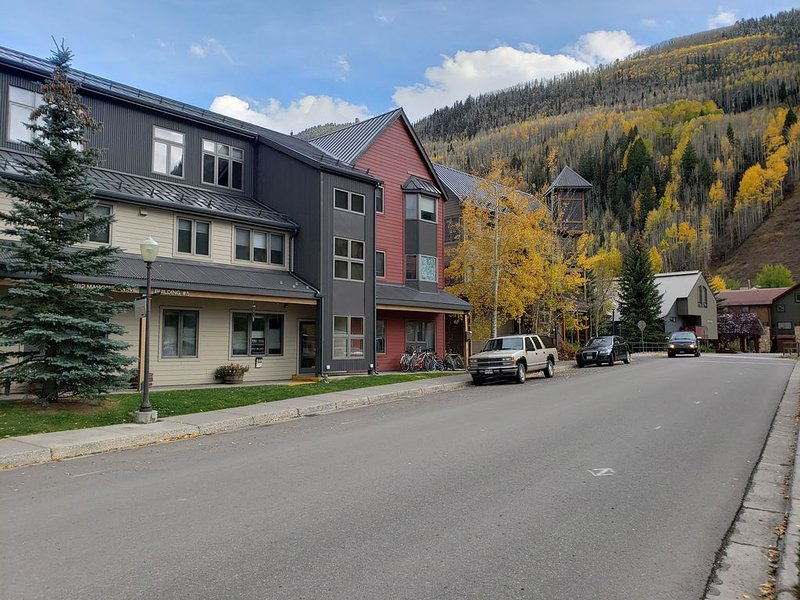 2BD/2BA Condo in Town of Telluride, Sleeps 6, Garage, Hot Tub, BBQ, Pool, Ferienwohnung in Telluride