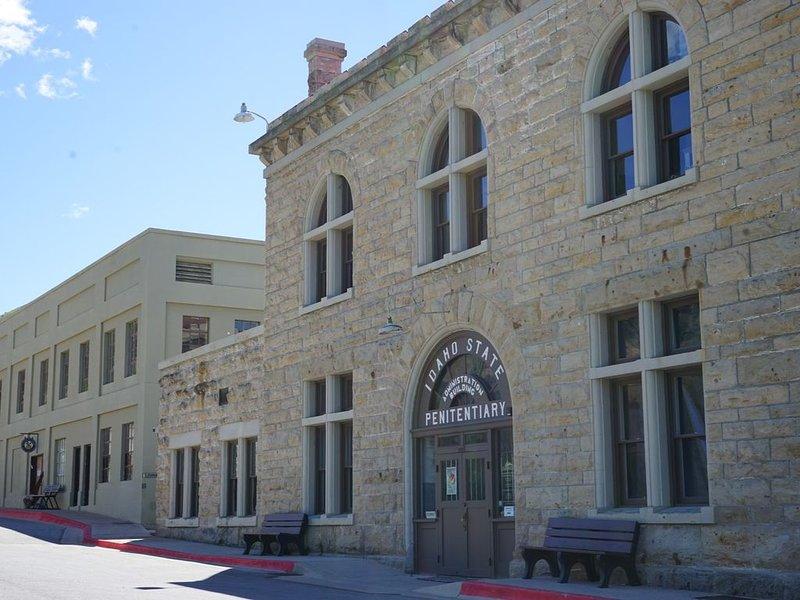 La penitenciaría histórica es un lugar divertido para visitar.