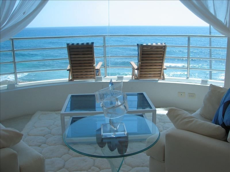 Cool, Dreamy Oceanfront Villa... 'Cristal'  Famously Beautiful, holiday rental in Playa Mujeres