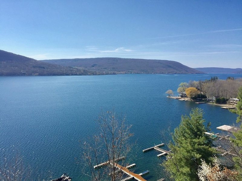 Canandaigua Lake Superior Views Great skiing 10 minutes to Bristol Mountain, location de vacances à Naples